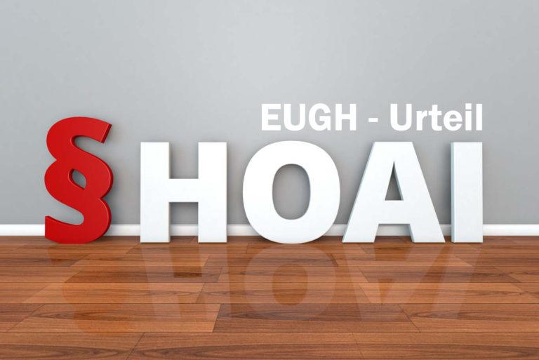 EuGH-Urteil zur HOAI: Das sind die Folgen für Ihr Tagesgeschäft