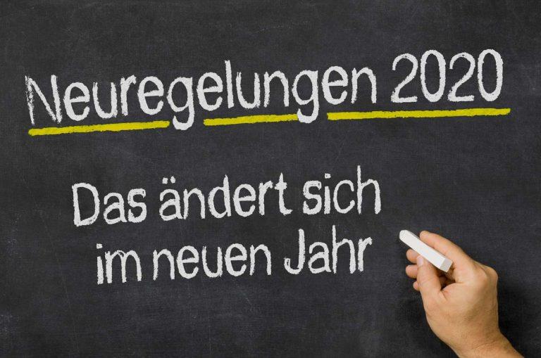 Gesetzesänderungen 2020: Was sich für Planungsbüros ändert